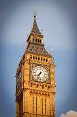 Clock face of Big Ben, Westminster