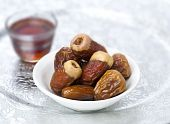 Tea and arabic dates