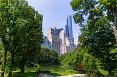 pic of ponds  - Central Park The Pond Manhattan New York US - JPG