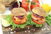 Healthy Delicious Prawn Burgers