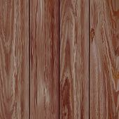 Realistic dark wooden texture. Vector illustration.