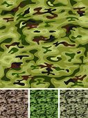 Seamless Military And Hunting Camo