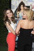 LOS ANGELES - FEB 10: Laura Marano, Leigh Allyn Baker at the screening of the Disney Channel Original Movie 'Bad Hair Day' at the Frank G Wells Theater on February 10, 2015 in Burbank, CA