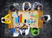 Diversity Business People Strategy Planning Ideas Teamwork Concept