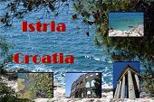 stock photo of arena  - Several Views Of The City Of Pula Istria Croatia - JPG