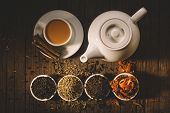 picture of darjeeling  - Masala tea with spices - JPG