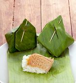 stock photo of custard  - Thai Dessert  - JPG