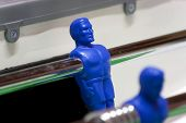 Table Football Blue-player