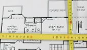 House Plans And Folding Rule