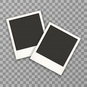 ������, ������: Two Photo Frame Retro Photo Frame Isolated On A Background Photo Frame Mock Up Photo Frame Borde