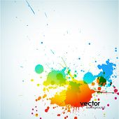 abstrakt colorful Background. Vector.