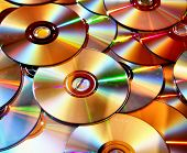 Pile of DVD's