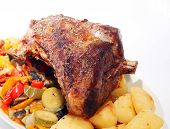 Roast Joint Of Lamb