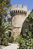 Tower In Rodos Castle