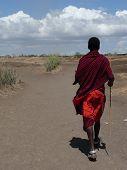 Masai Stammesangehörige