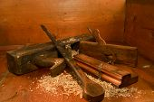 Antique Wood Tools