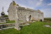 stock photo of carron  - 13th century Carron Church in the Buren Co - JPG