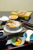 Japanese Food, Shabu-shabu And Sushi