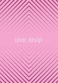 Minimal Trendy Cover Template Set. Futuristic  Layout With Halftones. Geometric Minimal Cover Templa poster