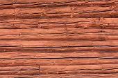 Red Log Wall Background