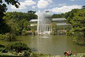 Palacio de cristal Parque del Retiro Madrid