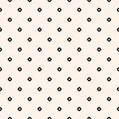 Vintage Seamless Pattern With Small Circles, Tiny Perforated Rounded Shapes. Simple Stylish Geometri poster
