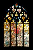 Vernon cathedral window