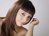 Beautiful Amer-Asian Young Woman