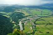 Dunajec countryside