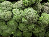 Fresh broccoli in bulk