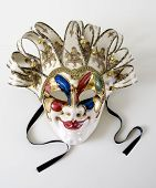Large Venetian Mask