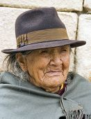Indigenous Aged Woman