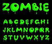 Zombie alphabet