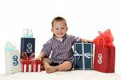 A Boy Turns Three Years Old