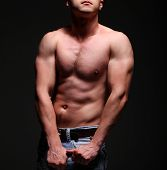 Handsome Young Muscleman