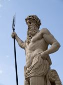 picture of poseidon  - The anciest statue of Neptune  - JPG
