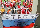 Russian Football Fan