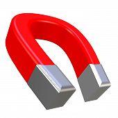 Magnet 3D Rendering