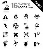 Basic - los iconos de advertencia