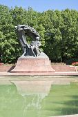 picture of chopin  - Monument of Chopin  - JPG