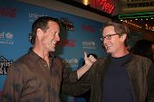 LOS ANGELES - MAR 15:  James Denton; Kyle MacLachlan arrives at the
