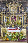 Altar In St John The Baptist Church - Orawka, Poland.