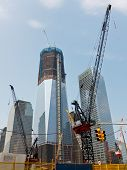 World Trade Center bouw, New York
