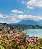 Cityscape Of Lucerne, Switzerland