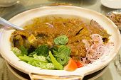 Nyonya Fish Head Curry With Vegetables