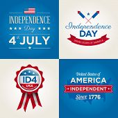 Happy-independencia-día-tarjetas-fonts.eps