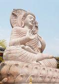 Close Up Of Buddha Statue..