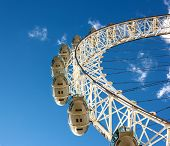 September 18, 2012, Below View Of London Eye,london, United Kingdom, England