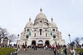 Steps To Basilica Sacre Coeur In Paris