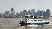 Ferry rit van New York naar New Jersey